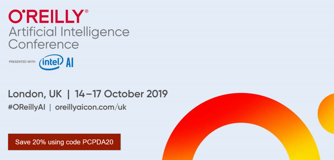 O'Reilly AI Conference – Project Data Analytics Community