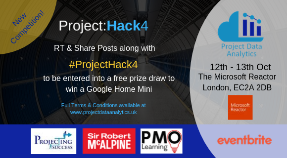 Enter our Project:Hack 4 Competition to win a Google Home Mini!