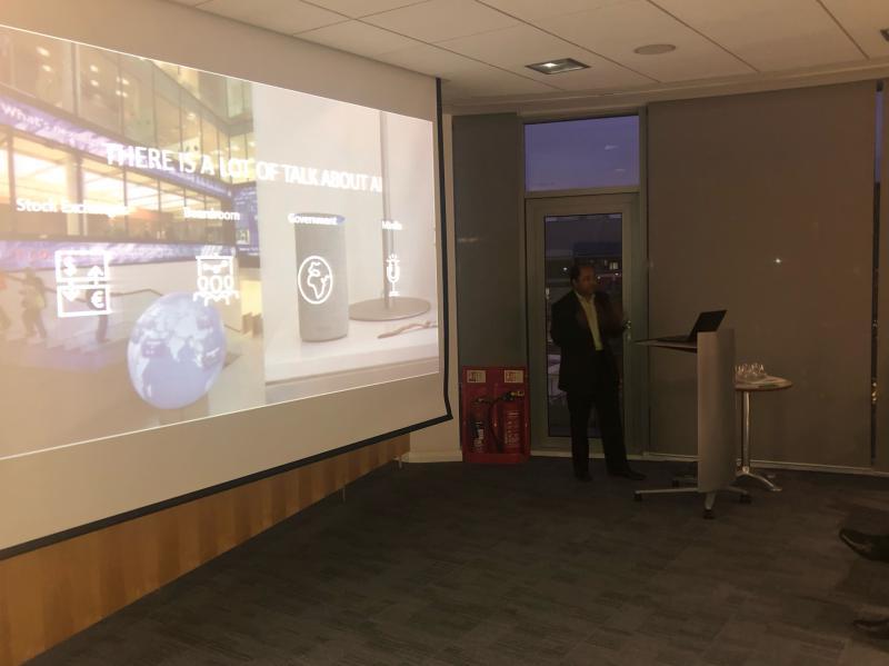 Bristol meetup with Saikat Sen